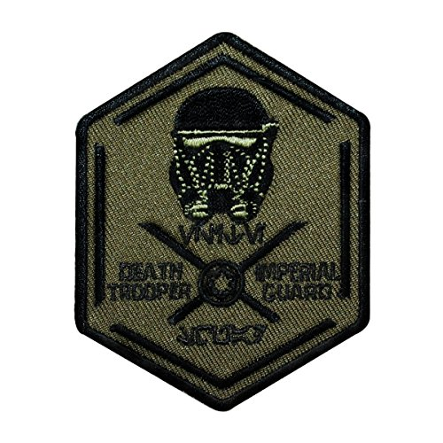 Disney Star Wars Death Trooper Patch Officially Licensed Iron On Applique