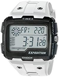 Timex Men's Expedition Grid Shock Resin Strap White