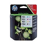Hewlett Packard - HP 950-951 XL Four Pack- Black & Color Inkjet Ink Set