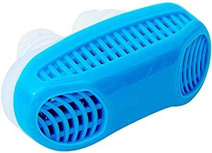 El mini ventilador de ronquido tapón es un purificador nasal ...