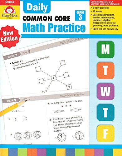 Daily Math Practice, Grade 3 (Common Core) (Daily Math Practice Grade 3)