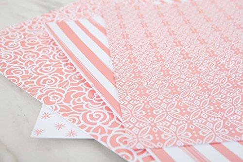 CRICUT FOIL EMBOSSED PAPER (Pink Embossed Foil)