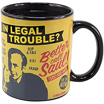 Better Call Saul - Breaking Bad Colour Changing Mug by 50 Fifty