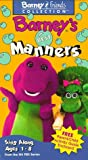Barney's Best Manners [VHS]