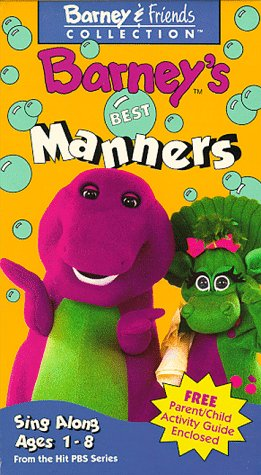 Barney's Best Manners [VHS] ()