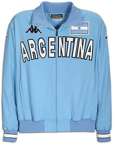 referencia Tía Persona a cargo  Kappa Men's Eroi Jacket ( sz. XXXL, Light Blue : Argentina ): Amazon.ca:  Sports & Outdoors
