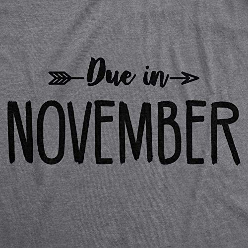 Pregnancy Shirts Announce Funny Due Tshirts Divertente Month Crazy Shirts Shirt Pregnant maternit T Magliette di Maternity October in Dog qvSP74w