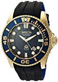 Invicta Men's 'Pro Diver' Automatic Stainless Steel and Silicone Casual Watch, Color:Two Tone (Model: 20203