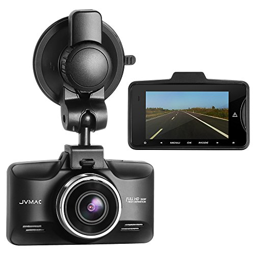 Vikcam Dash Cam Full with 2.7″ TFT LCD Screen, Car Camera Recorder with 150 Wide Angle Lens Car DVR with G-sensor, Motion Detection Function