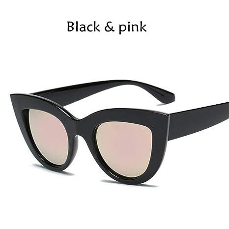 NNSYJ Gafas de Sol Gafas de Sol de Mujer Lentes de Color ...