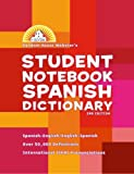Student Notebook Spanish Dictionary, RH Disney Staff, 0375722653