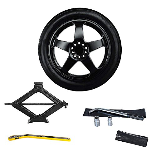 Complete Spare Tire Kit - Fits 2010-2015 Chevrolet Camaro All Trims Including ZL1- Modern Spare ()