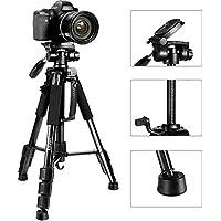 ESDDI 55'' Travel Portable Camera Tripod, Professional...
