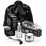 Derma Roller Kit For Face | 0.30mm 540 Titanium Microneedle Roller | Pure