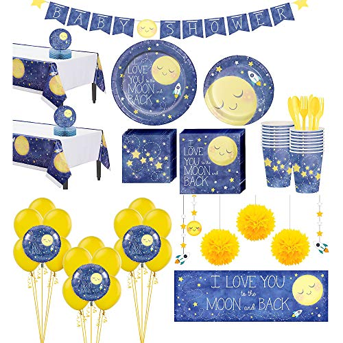 Party City Moon & Stars Premium Baby Shower