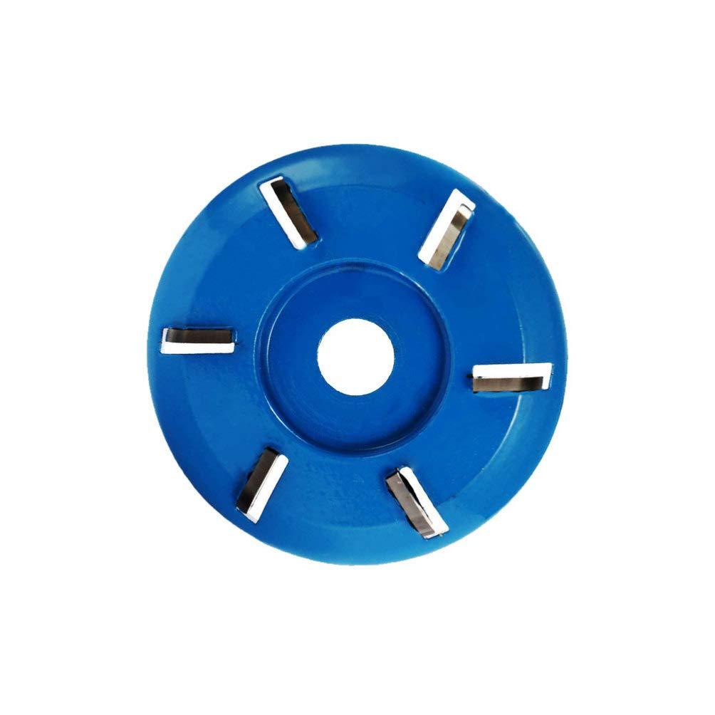 LIOOBO Herramienta de Disco de Talla Turbo de Madera de Seis Dientes con Fresadora para Amoladora Angular de Apertura 22 Mm