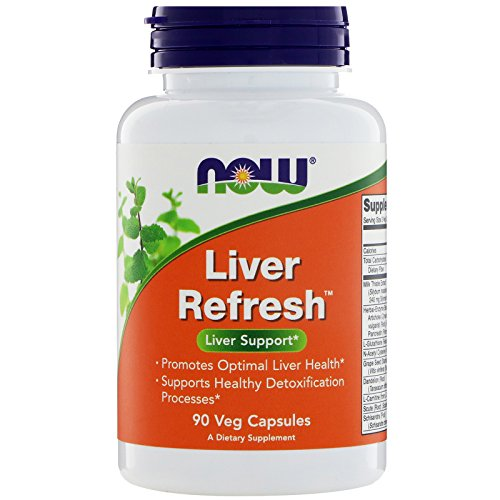Now Foods Liver Refresh - 90 Veggie Capsules (Pack of 3)