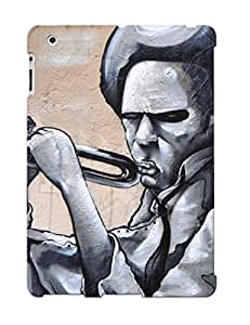 Honeyhoney Premium Playing A Trumpet Graffiti Heavy-duty Protection Design Case For Ipad air