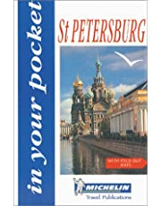 Michelin in Your Pocket Guide St-Petersburg - Russia, 1st