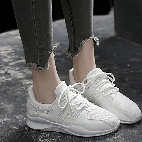Formateurs Respirant Femmes Légers Multi Sports Air Blanc Dames De Course Sport Mesh Marche Plein Athlétique En De Chaussures Fitness Footing Wealsex 0wYqEt