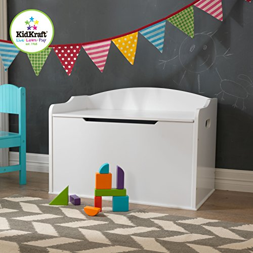 51477F9uwOL - KidKraft Austin Toy Box, White