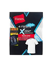 Hanes X-Temp Boys` 5-Pack Active Cool T-Shirt