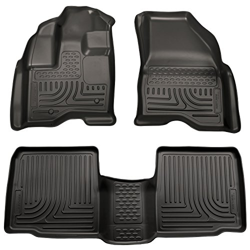 Husky Liners Front & 2nd Seat Floor Liners Fits 09-16 MKS ()