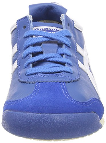 Asics Unisex Adults' Messico 66 Fitness Shoes Blue (Classic Blue/White 4201) dQYRM2