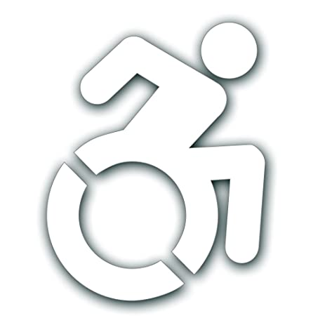 Amazon Handicap Decal New Accessible Icon For Wheelchair Lift