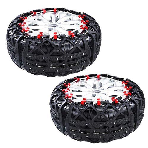 Cadenas Para Neumáticos/Cadena Antideslizante Fácil De Instalar Snow Fit Para Camiones Ligeros Y Cadenas De Tracción De Neumáticos SUV: Amazon.es: Bricolaje ...
