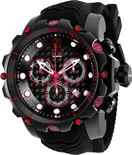 Invicta Reserve JT Venom Ltd Ed Swiss Quartz Chronograph Men's 52mm Strap Watch (25413)