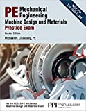 PPI PE Mechanical Engineering Machine Design and