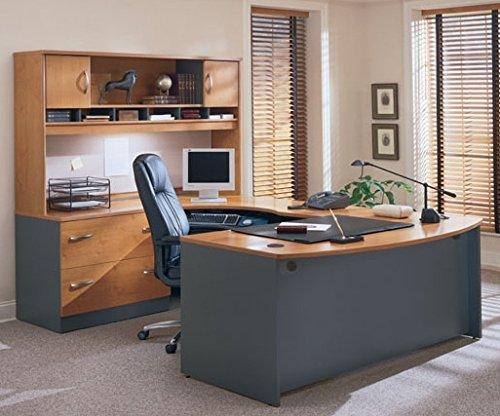 Bush U Shaped Desk W/Hutch: 71