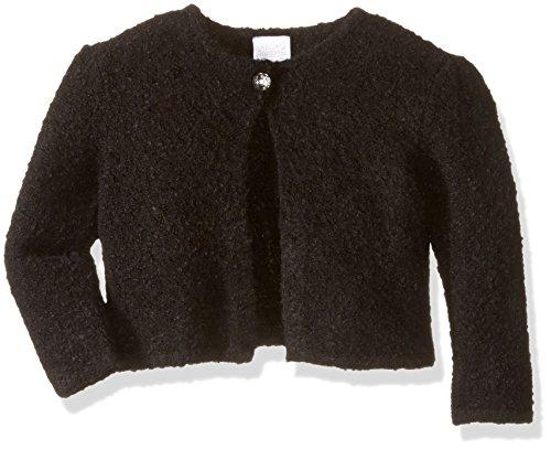Gymboree Girls' Dressy Cardigan, Black, 6-12 ()