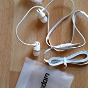 Schwarz 1 2020 Alark In Ear Kopfh/örer Stereo Sport Headphones Bass Doppeltwirkende Spule Remote Control Headset Earphones Headphones mit Mikrofon f/ür iPhone Android PC Smartphones MP3 Players