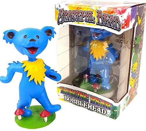 Grateful Dead Dancing Bear Bobblehead   Blue