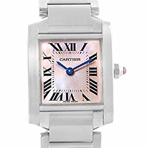 Cartier Tank Francaise quartz womens Watch W51028Q3 (Certified Pre-owned)