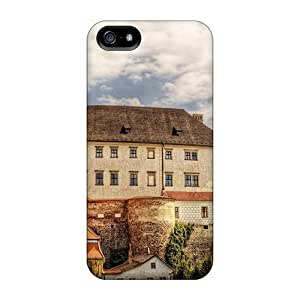 High Quality Mialisabblake Wonderful Castle Skin Case Cover Specially Designed For Iphone - 5/5s