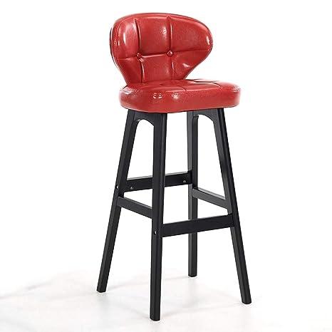 Tremendous Amazon Com Qqjbd 40 Inch Pub Bar Height Barstool Modern Squirreltailoven Fun Painted Chair Ideas Images Squirreltailovenorg