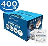 Care Touch Lens Cleaning Wipes, Pre Moistened Cleansing Cloths Great for ...