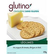 Glutino Gluten Free Vegetable Crackers, 125 gm