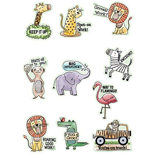 Creative Teaching Press Reward Stickers Safari Friends Ctp 2159 with