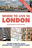 Where to Live in London, Graeme Chesters and David Hampshire, 1907339132