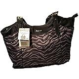 iPack Baby Diaper Bag Purse Travel Organize Bottles - Black/Gray
