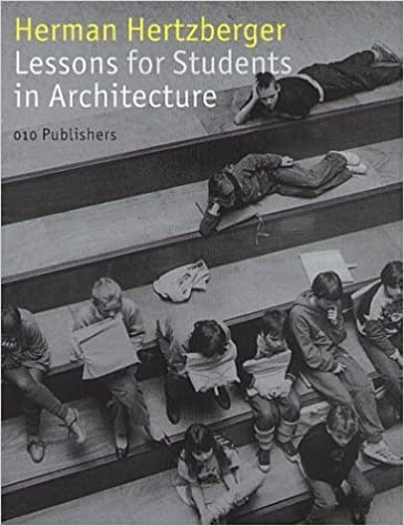 Lessons For Students Of Architecture: Herman Hertzberger: 9789064504648:  Amazon.com: Books