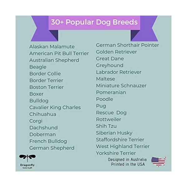 Dog Decor Rottweiler Wall Art - Quote Print (8.5x11 Unframed) | Pet Memorial Gifts | Dog Mom Gift | New Puppy Keepsake | Original Rottweiler Gifts for Dog Lovers 5