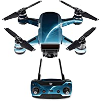 Skin for DJI Spark Mini Drone Combo - Outer Space| MightySkins Protective, Durable, and Unique Vinyl Decal wrap cover | Easy To Apply, Remove, and Change Styles | Made in the USA