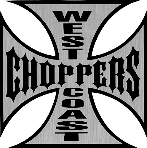 West Coast Choppers Chrome & Black Large 6