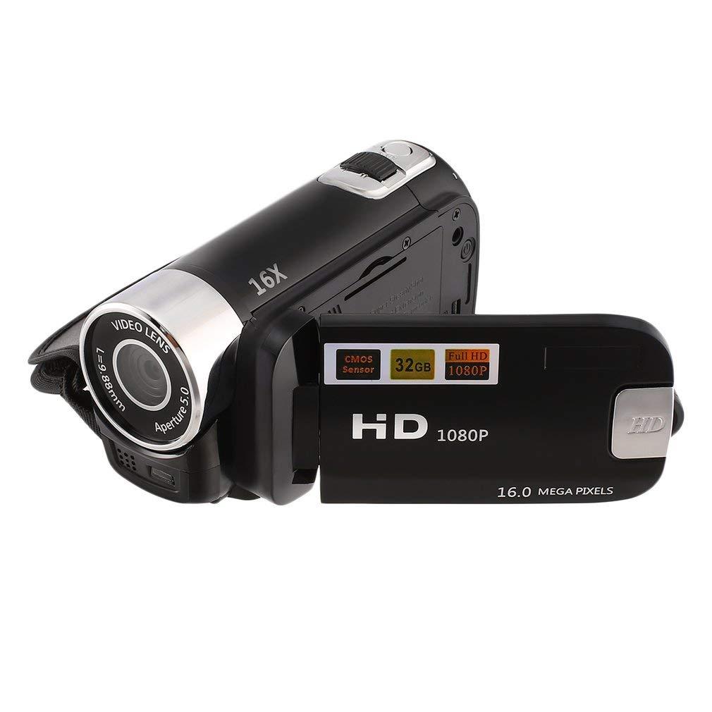 2.4 Inch Screen HD 1080P Digital TFT Camera CMOS DV with LED Fill Light(Color:Black)