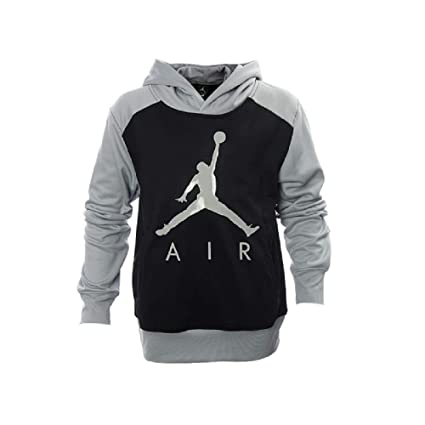 0ae6676ca8ce26 Image Unavailable. Image not available for. Color  Nike Air Jordan Boys   Therma Fit Basketball Hoodie ...